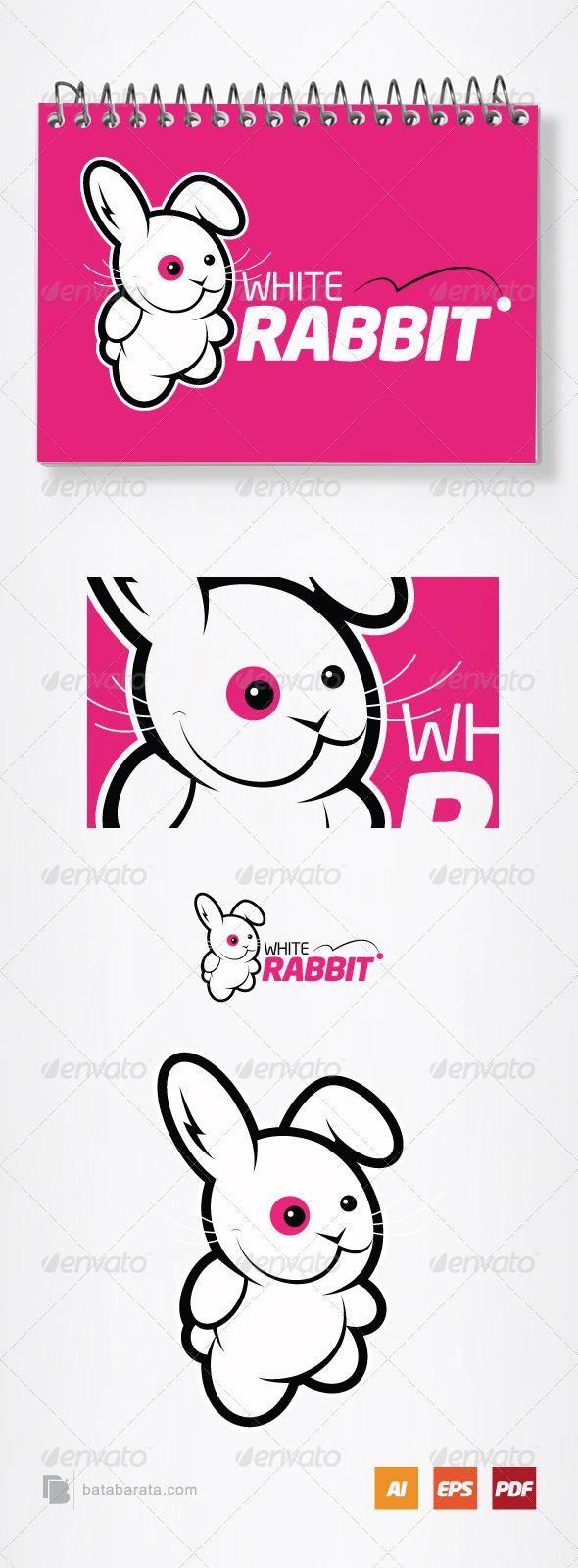 White Rabbit Logo Template for 29 logo graphics