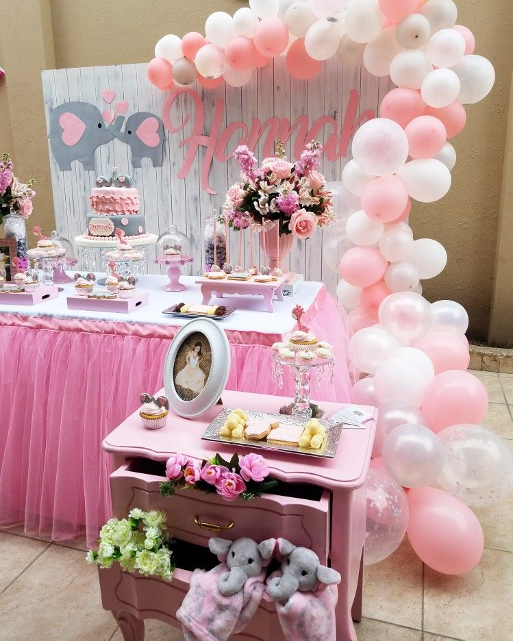 Baby Shower Nina Elefante Decoracion.Elephant Babyshower Designed By Deco Rent Guayaquil