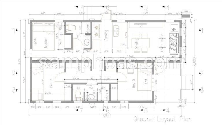Low Budget 3 Bedrooms Home Plan 6x11 | Home design floor ... on 9x6 bathroom layout, 6x7 bathroom layout, 10x10 bathroom layout, 8x6 bathroom layout, 8x10 bathroom layout, 7x7 bathroom layout, 10x11 bathroom layout, 8x8 bathroom layout, 4 x 9 bathroom layout, 7x9 bathroom layout, 5x13 bathroom layout, 7x5 bathroom layout, 8x12 bathroom layout, 8x9 bathroom layout, 8 x 14 bathroom layout, 4 x 7 bathroom layout, 4x12 bathroom layout, 6x6 bathroom layout, 7x11 bathroom layout, 4x6 bathroom layout,
