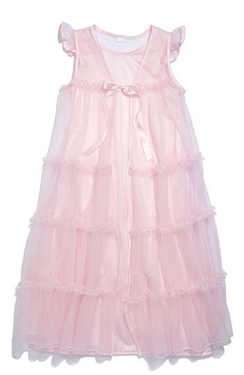 b20b0549d Laura Dare Nightgown   Robe (Little Girls) available at Nordstrom ...