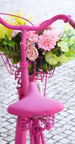balade v lo la vie en rose pinterest rose bicyclette et couleur. Black Bedroom Furniture Sets. Home Design Ideas