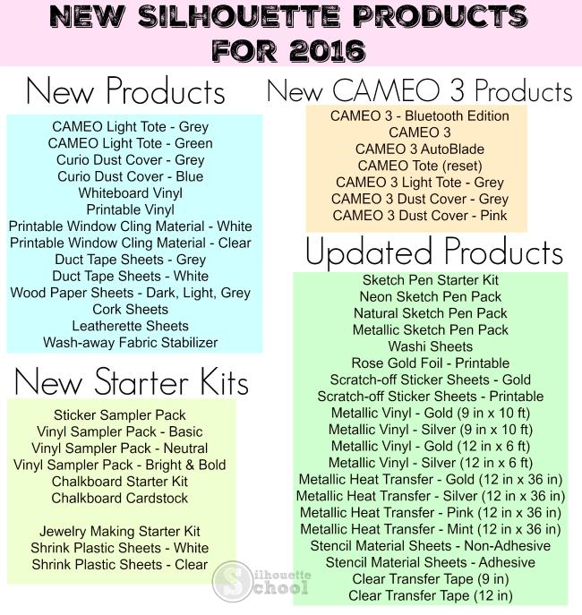 Silhouette CAMEO 3 met de (optionele) Bluetooth en AutoBlade Coming in 2016 (& Volledige lijst van nieuwe producten) ~ Silhouette School