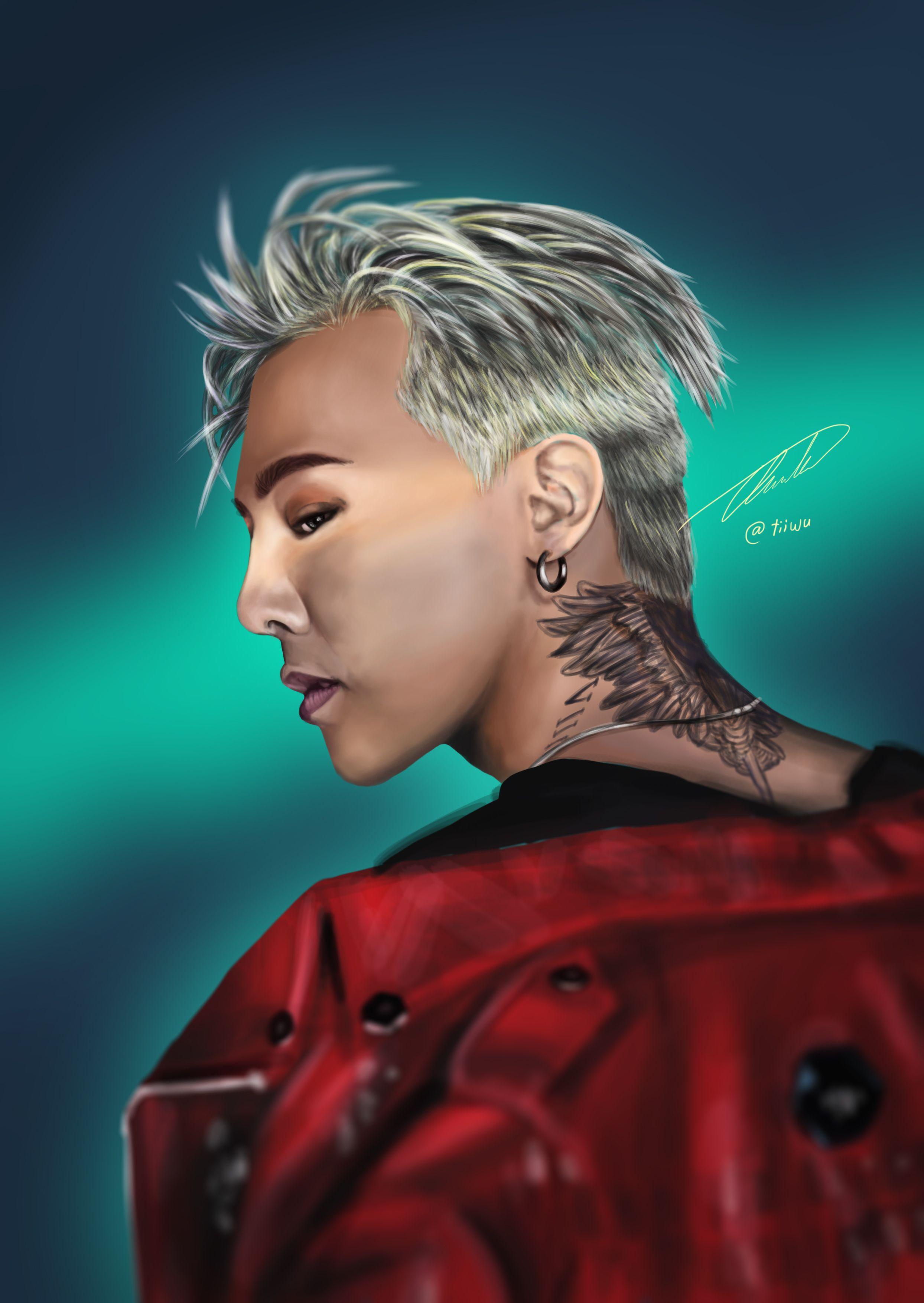 69ceb4da8 G-Dragon BIGBANG | tiiwu in 2019 | Dragon art, G dragon, Bigbang