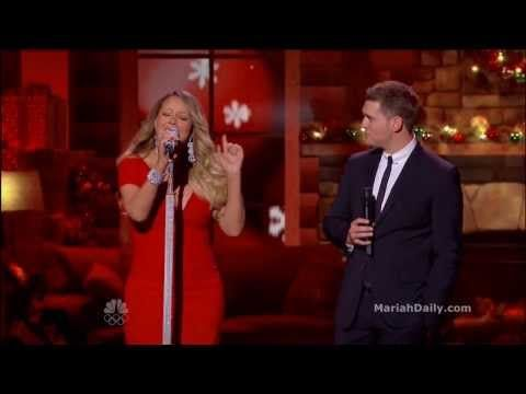 Mariah Carey All I Want For Christmas Is You Duet With Michael Buble Youtube Michael Buble Christmas Music Music People