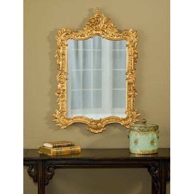Astoria Grand Frazee Ornate English Accent Mirror Finish: Gold Leaf#accent #astoria #english #finish #frazee #gold #grand #leaf #mirror #ornate