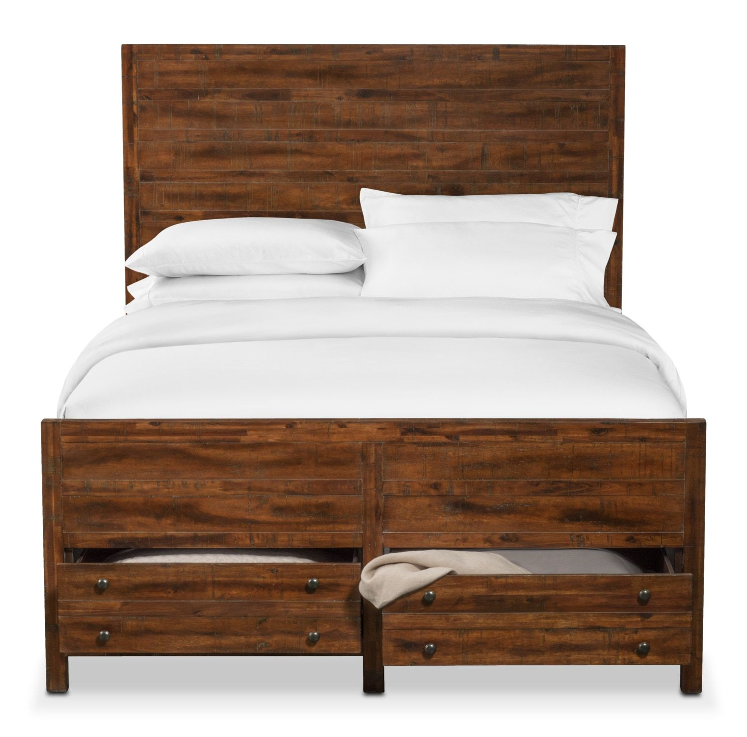 Urban Country. Get the vintage look of barn wood with the