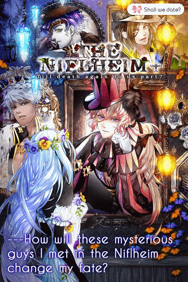 The Niflheim Dating sim game, Dating sim, Adventure romance
