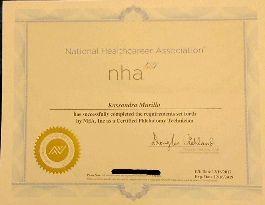 Its official license phlebotomist noob certificate its official license phlebotomist noob certificate certificate school journey 1betcityfo Images