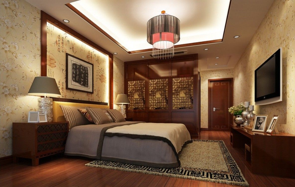 Wooden Flooring Designs Bedroom Beauteous Bedroom Interior With Wooden Flooring  Design Ideas 20172018 Decorating Design