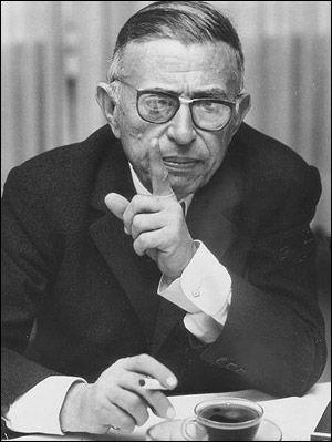 Jean - Paul Sartre #jeanpaulsartre
