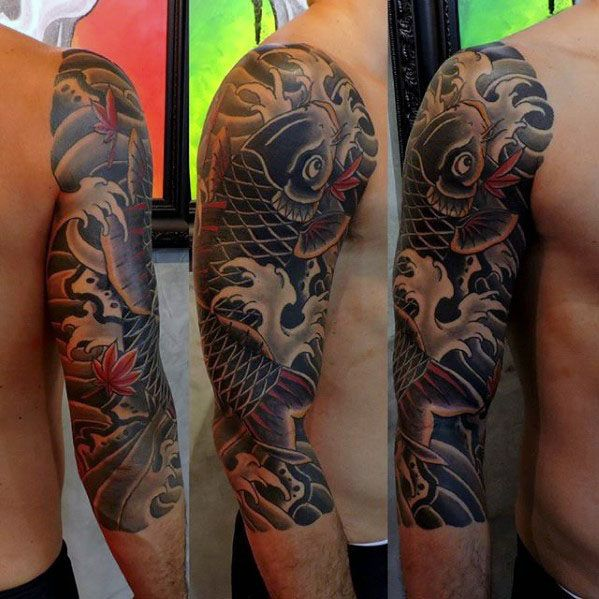 60 Japanese Half Sleeve Tattoos For Men Manly Design Ideas Chris