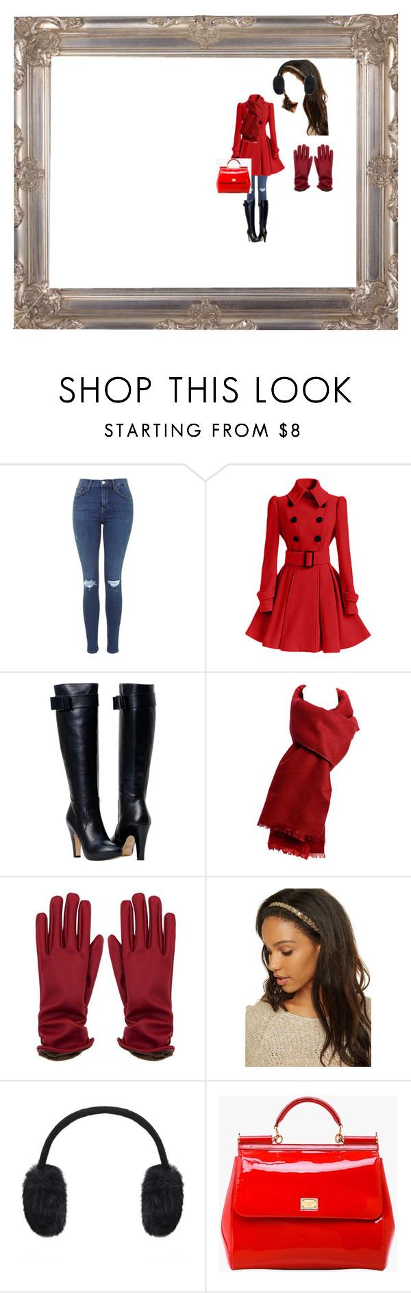 """Winter Wear"" by ariya1 on Polyvore featuring Kurt Geiger and Dolce&Gabbana"