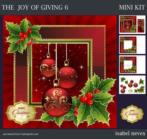 The Joy Of Giving 6 Merry Christmas Greetings Christmas