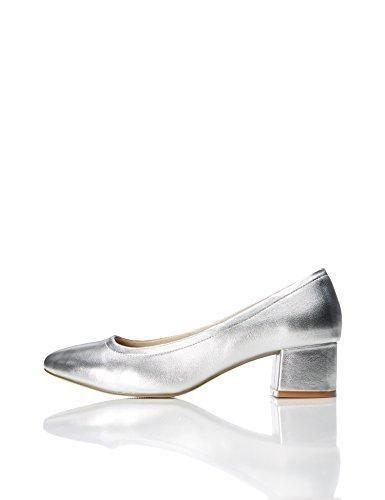 Zapatos plateado Find para mujer B6BF328I4o
