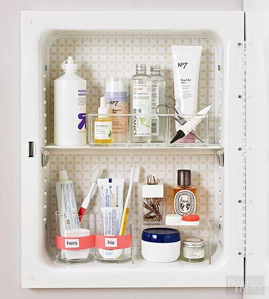 Clean up your bathroom cabinets with seamless storage ...