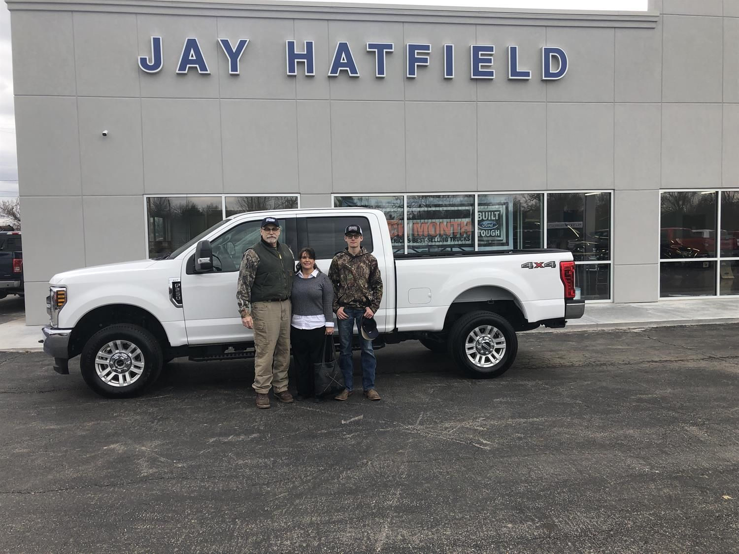 Jay Hatfield Ford >> David Congratulations On Your New 2019 Ford F 250 Thank