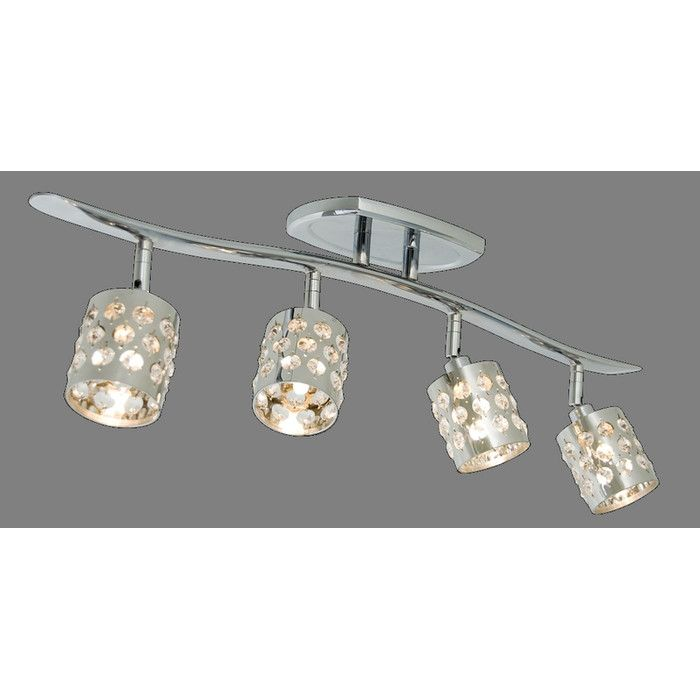 House Of Hampton Rex 4 Light Full Track Lighting Kit Reviews Wayfair Ca