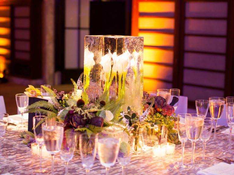 17 Creative NonFloral Centerpiece Ideas Centerpieces Wedding