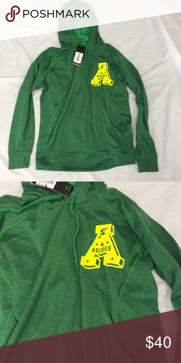 a21434b205a8 adidas Track Pullover Ultimate Hoodie Sweatshirt adidas Track Ultimate  Fleece Pullover Hooded Sweatshirt. Save money by bundling with other items  in my ...
