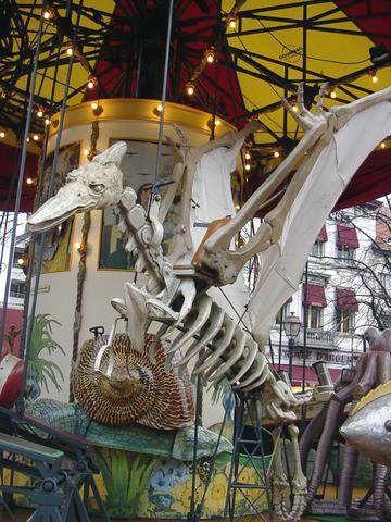 Carousel in Brussels