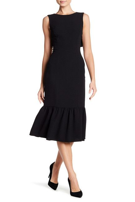 Image of Adrianna Papell Textured Crepe Dress | Sheath ...
