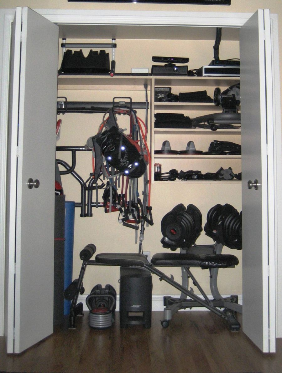 The Home Gym Balancing Functionality With Aesthetics Home - Small home gym equipment