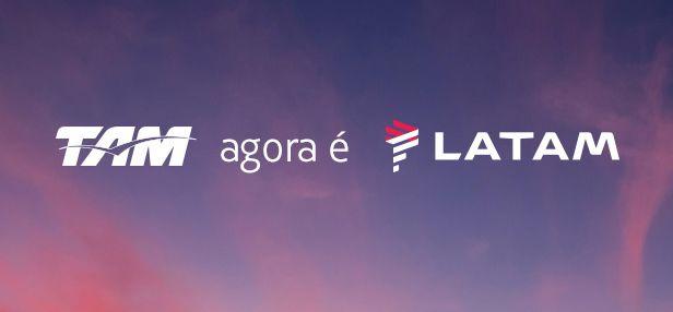 LATAM - Marca TAM e LAN começam a ser substituidas #latam #tam #lan #notícias #viagens