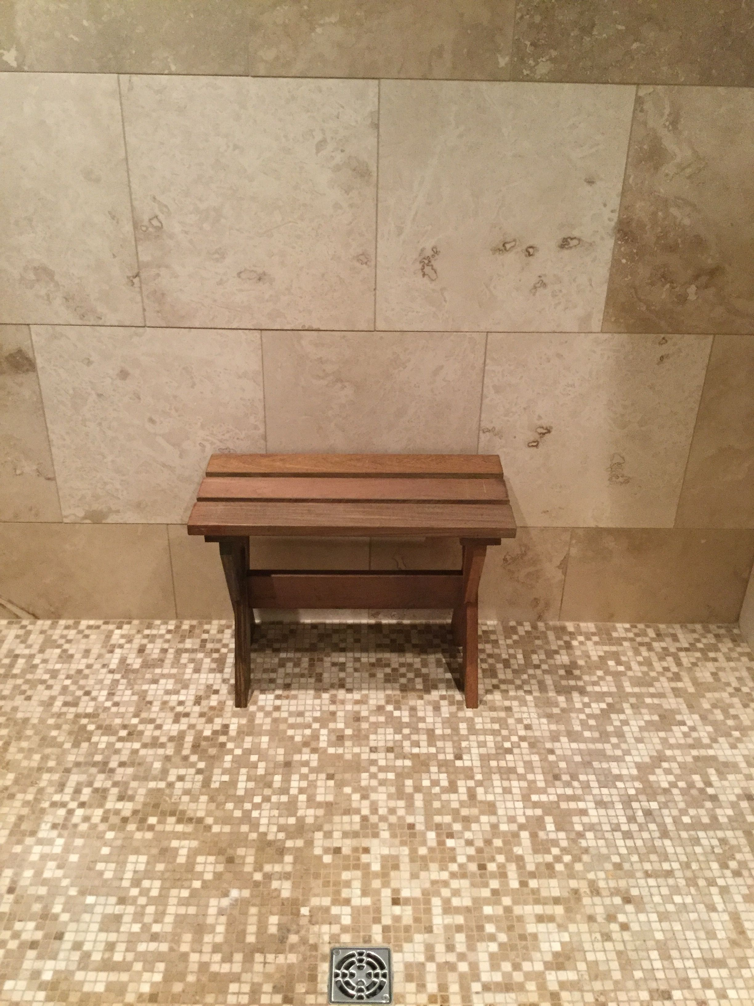 Shower Bench Made From Ipe Wood Thanks