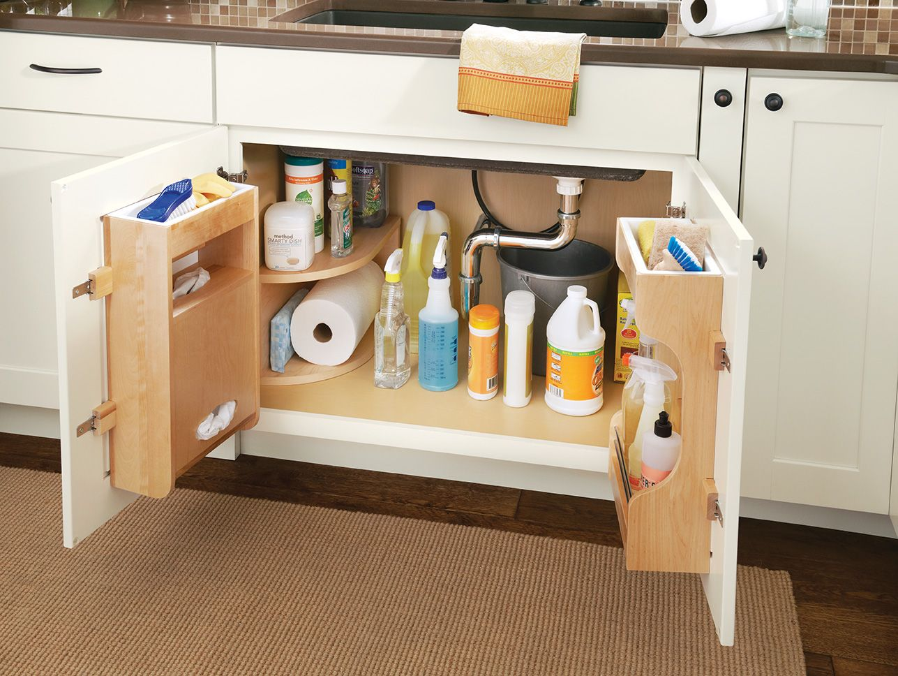Sink Base Multi Storage Organizer Combine These Door