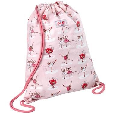 This fun Ballerina drawstring bag is just the right size for ...