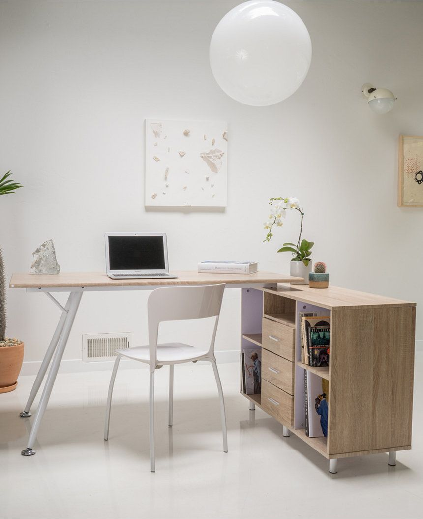 Oaklen Computer Desk Direct Ship Home Office Furniture Macy S