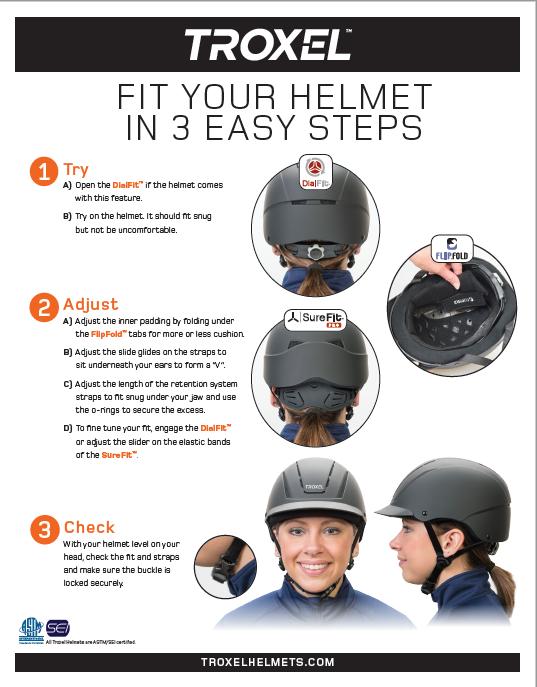 Troxel Helmet Fit Guide Helmet Troxel Helmets Fitness