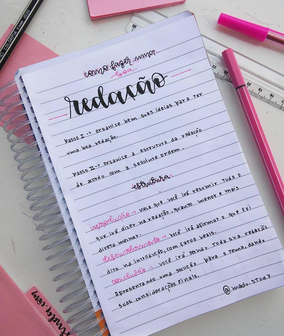 Boas palavras para redação