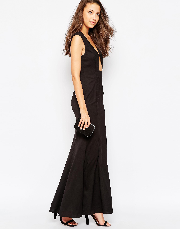 Asos Red Carpet 3 Panelled Long Sleeve Satin Maxi Dress At Asos Com Maxi Dress Maxi Dress Trend Shop Maxi Dresses [ 1110 x 870 Pixel ]