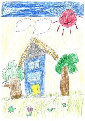 子供の描く いえ 子供の絵 子供 絵