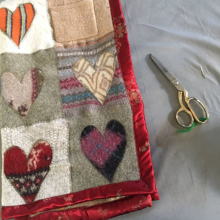 Pin by Katie Michelene on quilt Sweater quilt, Wool