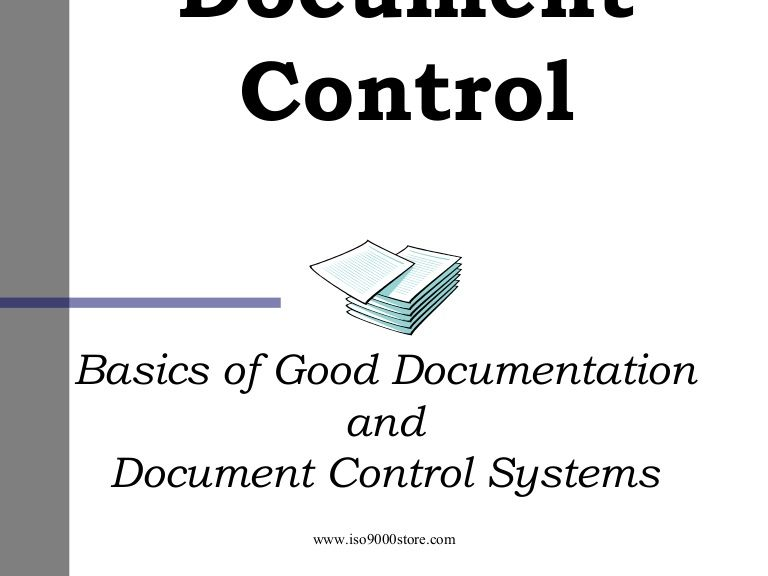 Documentation Control   Google  Document Control