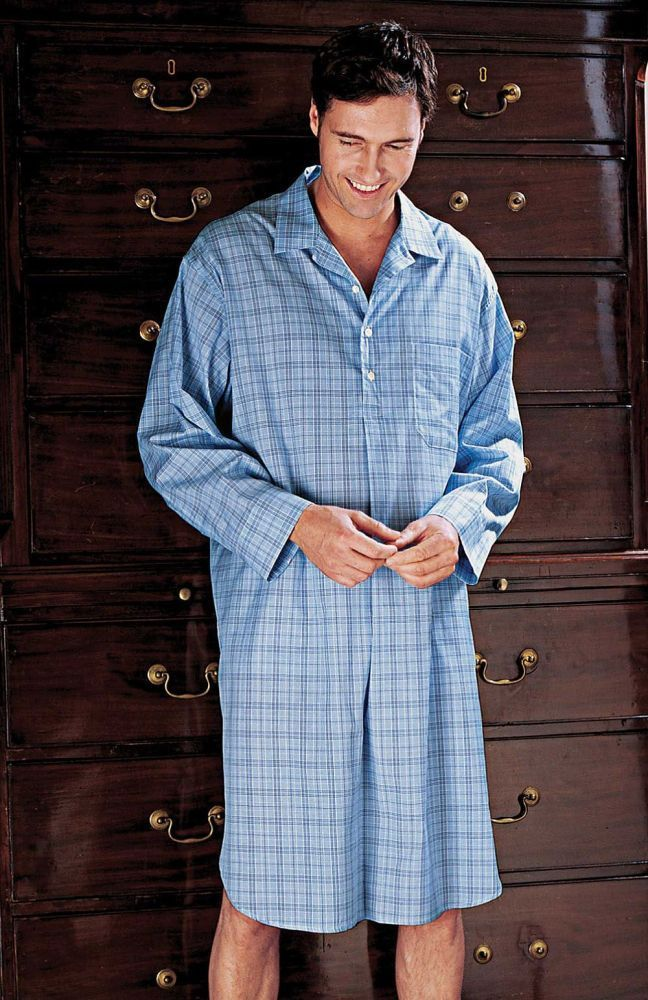 e4530ecab7 Men s Summer Weight Nightshirts - End of Season Fabrics At the end of each  season