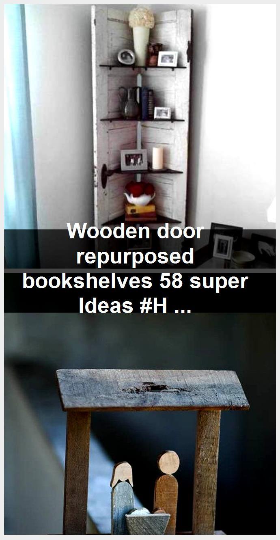 Photo of Wooden door repurposed bookshelves 58 super Ideas #Hair #Hairstyle #Hairstylist …,  #booksh…