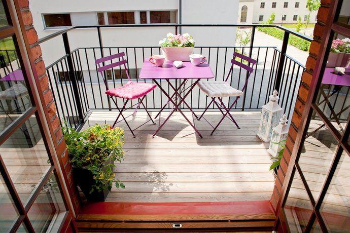 balcone arredato - Cerca con Google | Balconi, Design ...