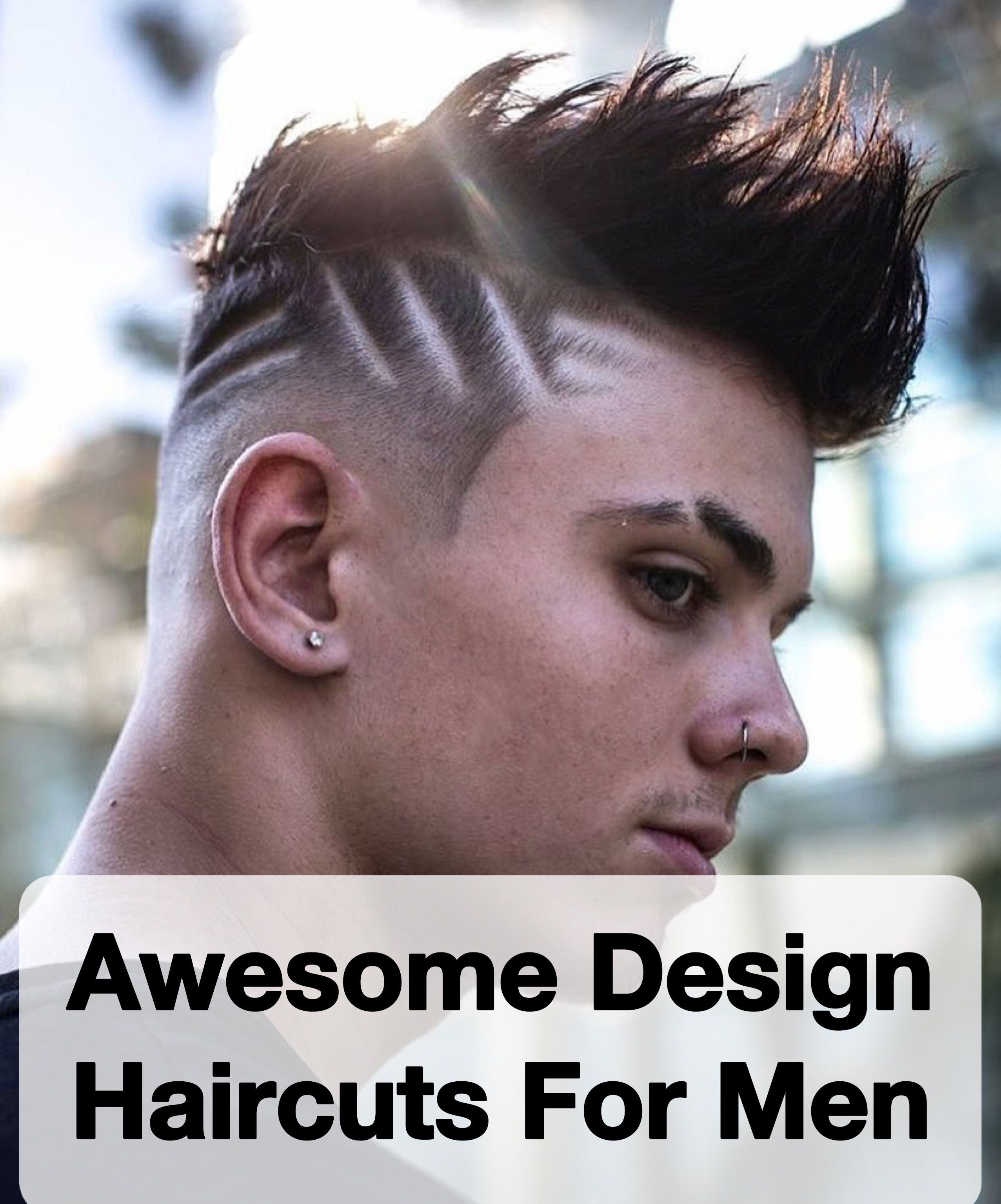 Haircut for men hairline  awesome design haircuts for men  haircuts  pinterest  hair