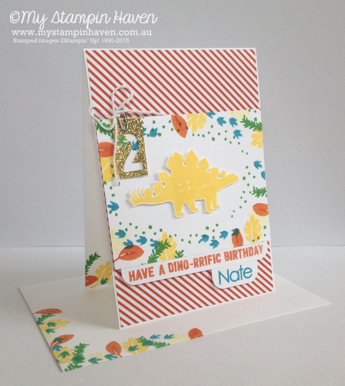 No Bones About It Back To Basics Alphabet Schoolhouse Dsp Custom Birthday Card Mystampinhaven Stampinup Casethecatty Boy Cards Birthday Cards Cards
