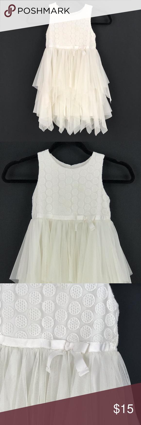 Cat Jack White Sleeveless Layered Tulle Dress Layered Tulle Dress Tulle Dress Tulle [ 1740 x 580 Pixel ]