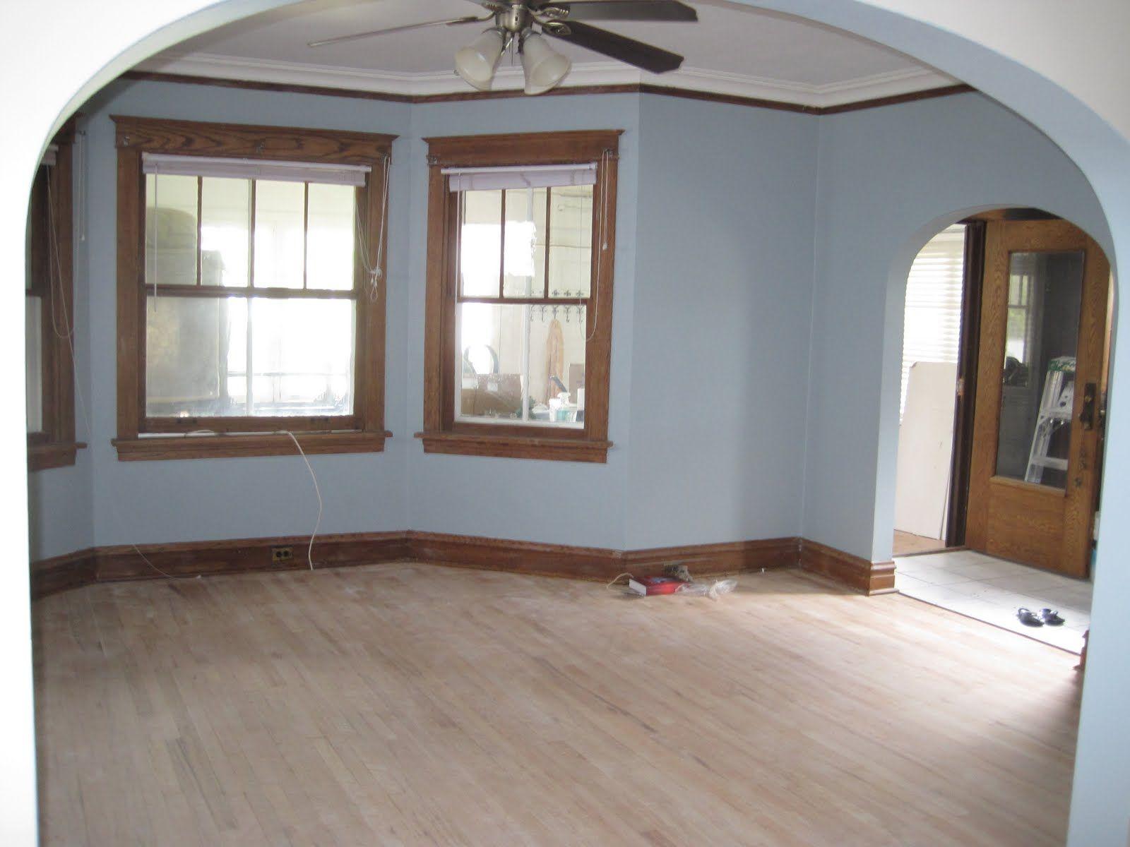 dining room paint colors dark wood trim