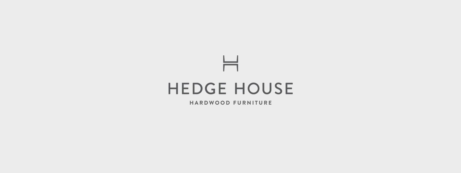 Hedge House Furniture Logo Design by Knoed Creative. Hedge House Furniture Logo Design by Knoed Creative   Hedge House