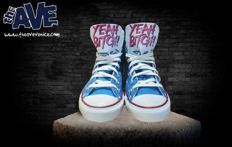 Jesse Pinkman shoesThe Ave Venice - Custom Everything