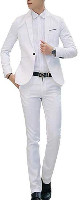 Costume 3 pi/èces Costume Blazer Business Costume Trois-pi/èces Veste Gilet Pantalon Slim Fit Formel Classique Bussiness Mariage Jacket Neige d/écontract/és Chemises