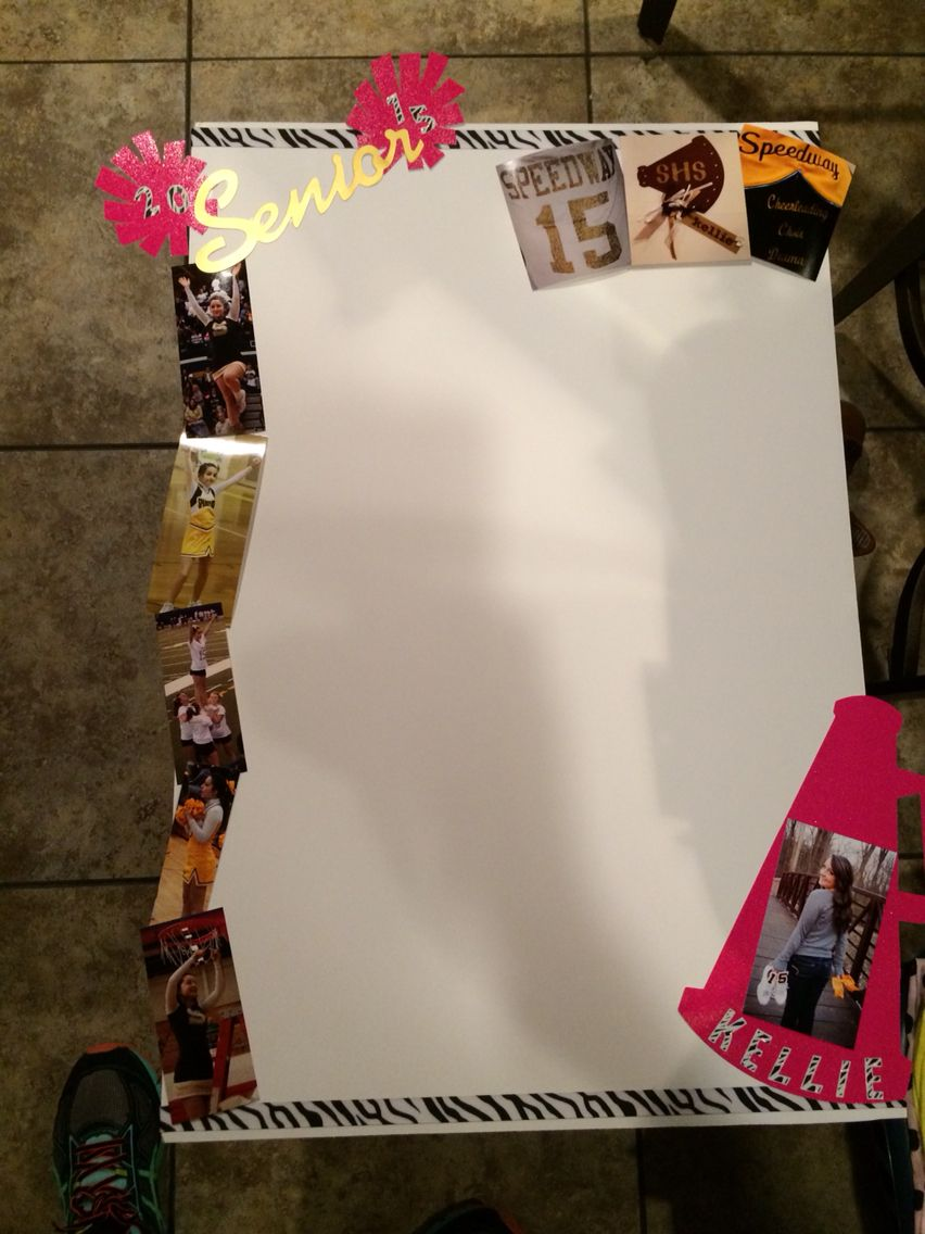 Senior Night Board