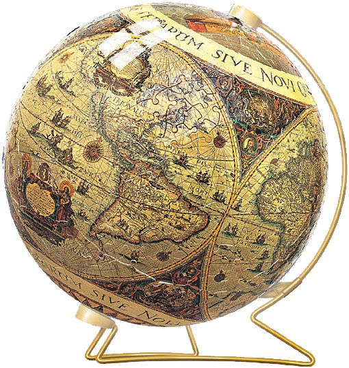 Historical world map puzzle ball maps globes pinterest world historical world map puzzle ball gumiabroncs Choice Image