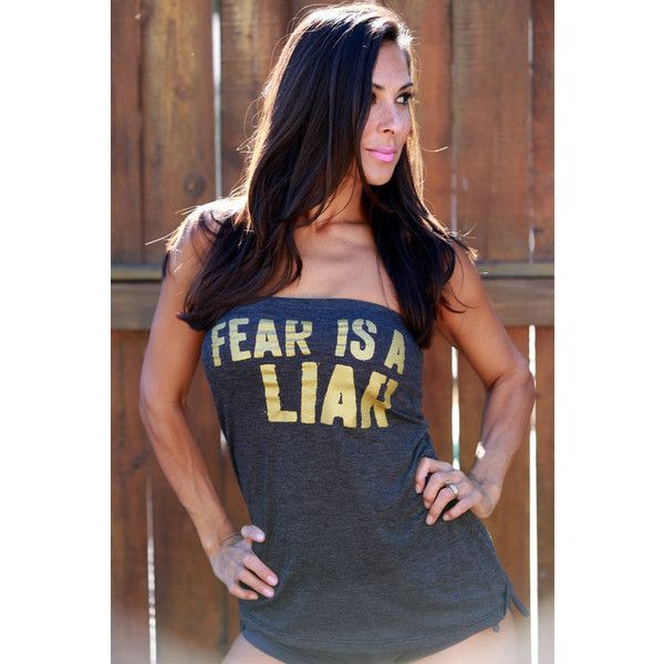 Fear is Liar. FD Feel Naked Strapless by FiredaughterClothing